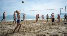 Thailand-volleyball strand