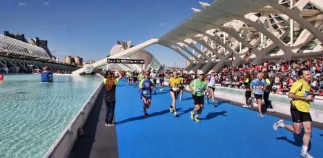 Valencia Marathon mål