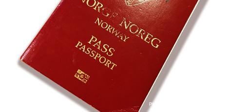 Pass og Visum
