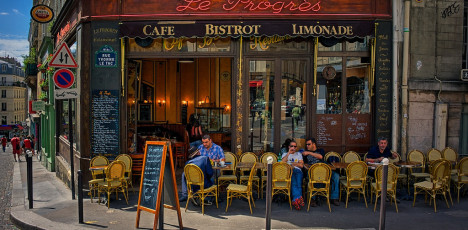 Uteservering-Paris