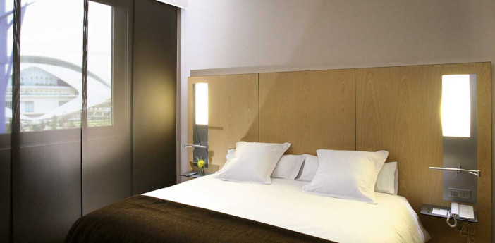 Hotell i Valencia - Barceló Valencia - standardrum
